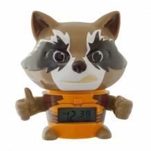 Купить часы марвел (marvel) будильник bulbbotz guardians of the galaxy енот-ракета 14 см 2021357