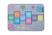 Купить игровой коврик wolli matlig плюшевый классики на светлом 3 в 1 130х180 см б-0335