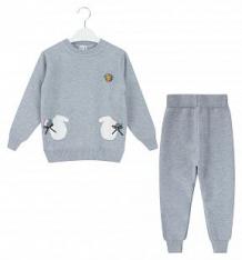 Купить комплект джемпер/брюки fun time, цвет: серый ( id 9376807 )