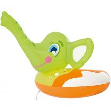 Круг для плавания Слоник с брызгалкой, Bestway, зеленый ( ID 5487009 )