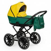 Купить коляска 2 в 1 mr sandman apollcl, цвет: желтый/изумрудный ( id 12529612 )
