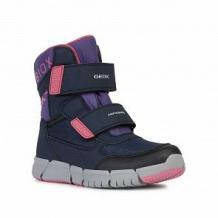 Купить сапоги geox, цвет: синий/фиолетовый ( id 11059418 )