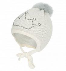 Купить шапка jamiks akulina iii, цвет: бежевый/серый ( id 9803325 )