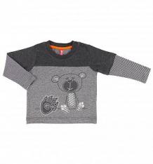 Купить джемпер kiki kids baby boy, цвет: серый ( id 9591291 )