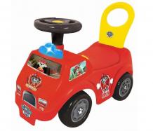 Купить каталка kiddieland пушкар пожарная машина маршалл спасатель kid 054247