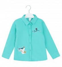 Купить блузка fun time, цвет: голубой ( id 9372037 )