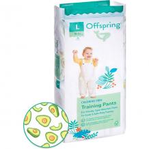 Купить трусики-подгузники offspring авокадо 9-14 кг, 36 шт ( id 17462130 )