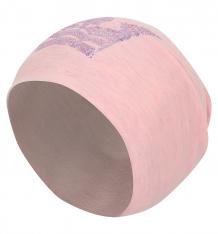 Купить шапка fido, цвет: розовый/серый 585