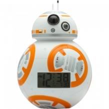Купить часы star wars будильник bulbbotz дроид bb-8 19 см 2020503
