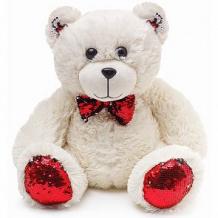 """Купить смолтойс, игрушка мяг. """"медвежонок с красными пайетками"""" ( id 11462680 )"""