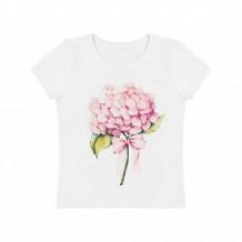Купить футболка роскошь с пеленок гортензия, цвет: молочный ( id 11378842 )