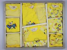 Комплект на выписку Bonito kids для новорожденного Flying dog (12 предметов) BK232KP