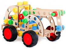 Купить конструктор alexander тягач 3x1 pull truck (102 детали) 2157a