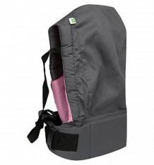 Купить слинг-переноска mum's era basic, цвет: серый/розовый ( id 9201631 )