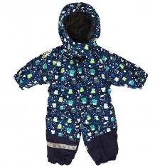 Купить комбинезон lappi kids утепленный, цвет: синий ( id 3348722 )