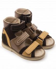 Купить сандалии tapiboo нарцисс, цвет: коричневый ( id 10489868 )