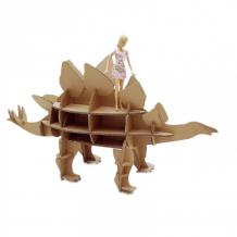 Купить картонный папа набор игровой из картона домашний динозавр: стегозавр cd-dinosteg