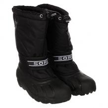 Купить сапоги зимние детские sorel youth cub an black черный 1164878