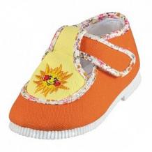 Купить туфли текстильные топ-топ, цвет: оранжевый ( id 12507016 )