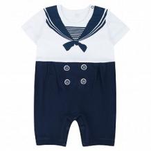 Купить песочник leader kids морячок, цвет: белый/синий ( id 10659077 )