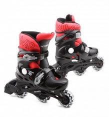 Купить ролики action sport, цвет: красный ( id 480318 )
