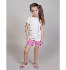 Купить шорты sweet berry городская прогулка, цвет: розовый ( id 10339115 )