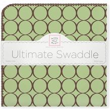 Купить фланелевая пеленка swaddledesigns lime, 110х110 см ( id 10785143 )