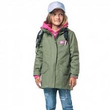 Купить куртка boom by orby, цвет: хаки ( id 10333361 )