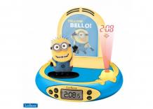 Купить часы lexibook будильник миньоны rp500des