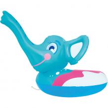 Купить круг для плавания слоник с брызгалкой, bestway, голубой ( id 5487010 )