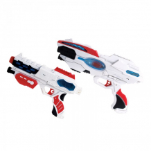 Купить fun red набор из двух бластеров со звуком и светом frbl010