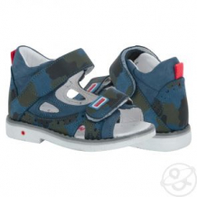 Купить сандалии bebetom, цвет: синий ( id 11658538 )