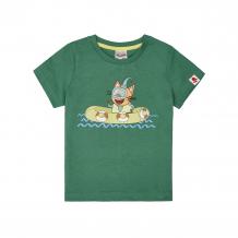 Купить футболка frutto rosso три кота, цвет: зеленый ( id 11320220 )
