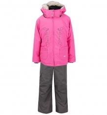 Купить комплект куртка/полукомбинезон gusti boutique, цвет: розовый gwg3012 azalea pink