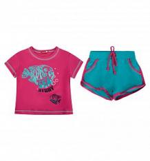 Купить спортивный комплект футболка/шорты, цвет: розовый pelican ( id 2688536 )