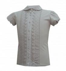 Купить блузка белый слон, цвет: серый ( id 12773638 )