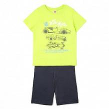 Купить комплект футболка/шорты optop, цвет: салатовый/серый ( id 12756286 )