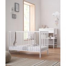 Купить кроватка mothercare balham, 120 x 60 см, белый mothercare 2128359