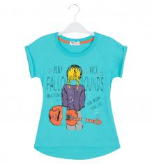 Купить футболка shishco, цвет: голубой ( id 8907031 )