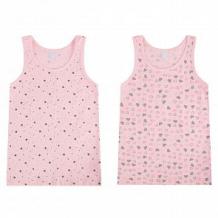 Купить комплект майка 2 шт leader kids, цвет: розовый ( id 12218530 )
