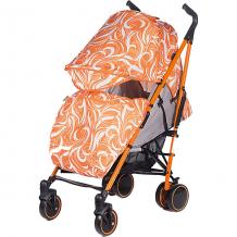 Купить коляска-трость babyhit handy, бело-оранжевая ( id 11429108 )