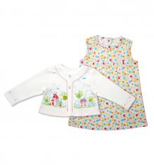 Купить комплект платье/жакет мамуляндия клякса, цвет: мультиколор ( id 9397957 )