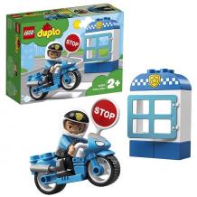 Купить lego duplo 10900 конструктор лего дупло полицейский мотоцикл