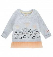 Купить джемпер lucky child amore girl, цвет: серый ( id 9459390 )