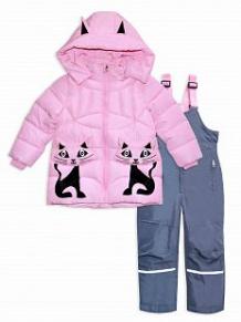 Купить комплект пуховик/брюки me&we, цвет: розовый ( id 11696590 )