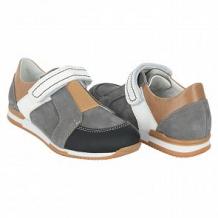 Купить полуботинки tapiboo нарцисс, цвет: серый/черный ( id 10489265 )