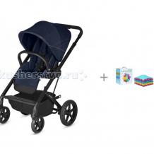 Купить прогулочная коляска cybex balios s с дождевиком и игровой коврик ортодон модульный набор №10 ассорти