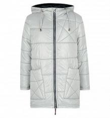 Купить пальто saima, цвет: серебряный ( id 10279805 )