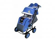 Купить санки-коляска galaxy snow city-2 мишка на больших колёсах snow galaxy city-2