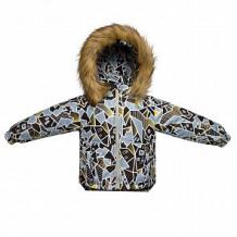 Купить куртка arctic kids, цвет: коричневый ( id 11309618 )